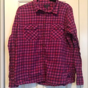 American Eagle Outfitters Flannel Button Up